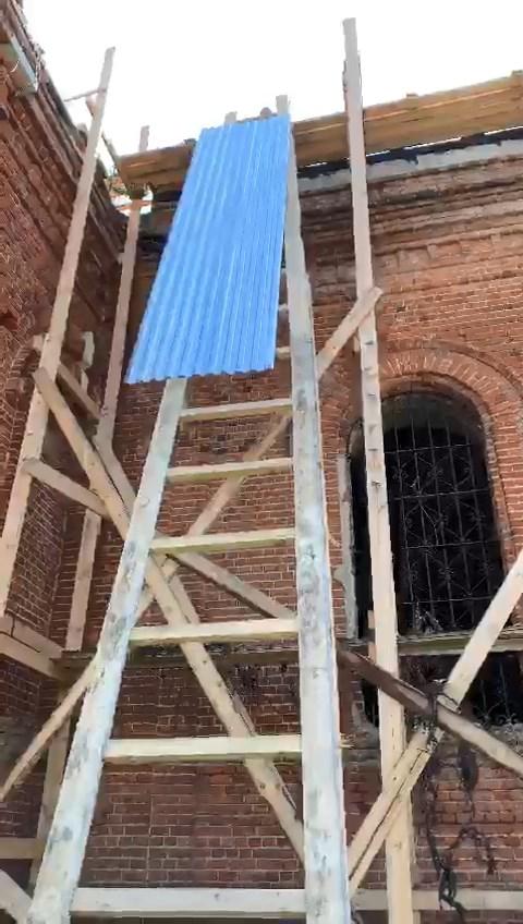 Восстановление храма Тихвинской иконы Божией Матери в селе Колычево