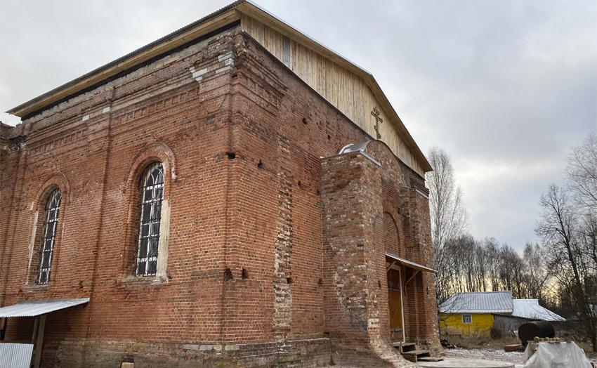 Храм Тихвинской иконы Божией Матери в Колычево Никольский предел